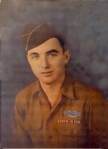 Pfc. Henry Tarver 333rd Co. B 84th Dividion